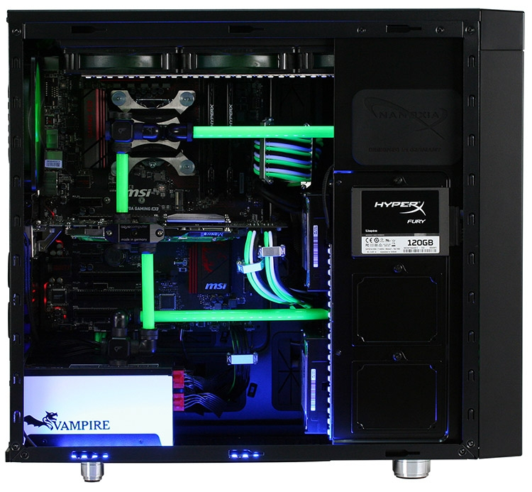 Корпус Nanoxia CoolForce 2 Rev. B