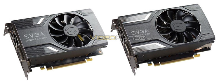 Видеокарты EVGA GeForce GTX 1060 и EVGA GeForce GTX 1060 Superclocked